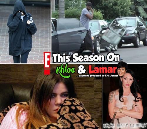 Khloe Kardashian And Lamar Odom Filming Khloe & Lamar Season 3