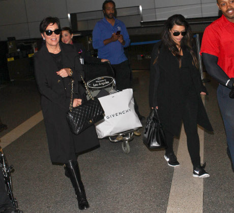 Kim Kardashian And Her Baby Girl First Guests on Kris Jenner's New Talk Show