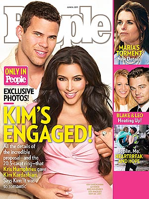 Kim Kardashian Is Engaged!