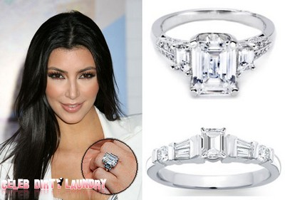 Kim Kardashian To Return $2 Million Engagement Ring - Wedding Gifts?