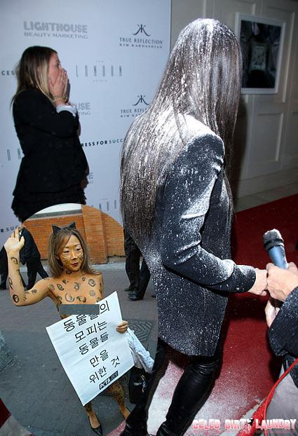Kim Kardashian Facing Fur-ious Protest At Calabasas DASH Store