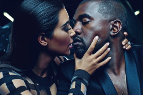 Kim Kardashian and Kanye West Fight Divorce Rumors With Kiss