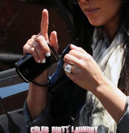 Did E! Buy Kim Kardashian's 20-Carat Wedding Ring? (Photo)