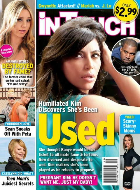 Kanye West Refuses To Marry Kim Kardashian -- Only Wanted A Baby! (Photo)