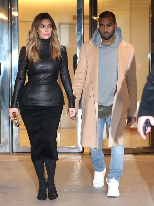 Kim Kardashian And Kanye West Paris Dinner, Lunch and Versailles Photos - Parade Around Paris Like Royalty (PHOTOS)