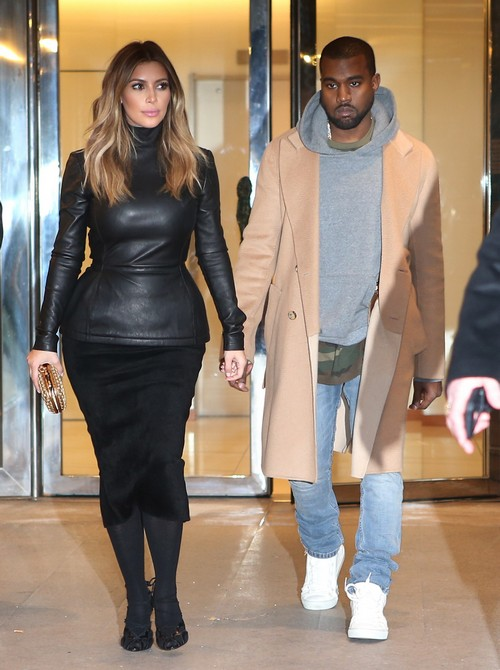 Kim Kardashian And Kanye West Paris Dinner, Lunch and Versailles Photos - Parade Around Paris Like Royalty (PHOTOS)
