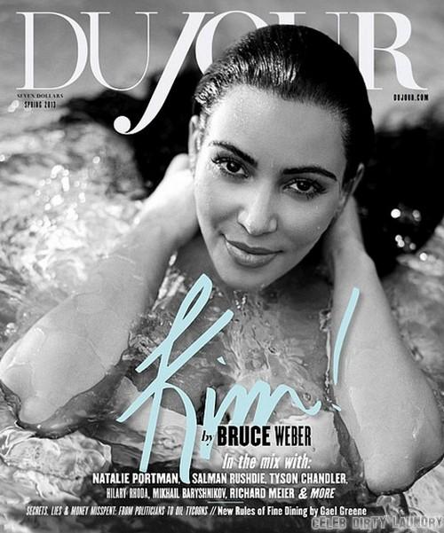 Kim Kardashian Debuts Nude Baby Bump Photos