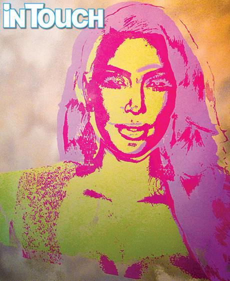 Kim Kardashian Warhol Portrait -- First Look (PHOTO)
