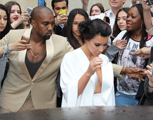 Kim Kardashian & Kanye West Head To Versailles