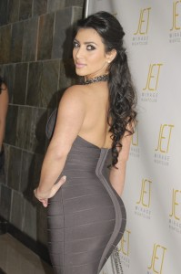 Kim Kardashian Packs On The Pounds