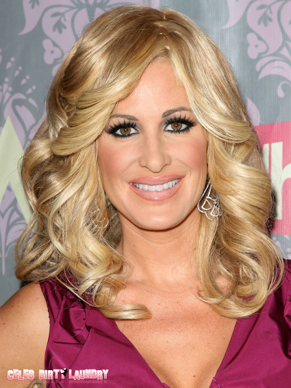 'Real Housewives' Kim Zolciak's Garage Burns To The Ground--Her Wigs Survive!