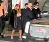 Semi-Exclusive... Recently Engaged Kim Kardashian Leaving Her Hotel In San Francisco