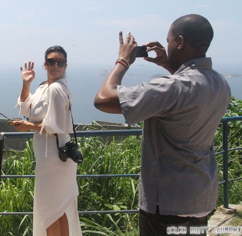 "Kris Jenner and Kim Kardashian Want a ""K"" Name Baby - Kanye Says ""NO WAY!"""