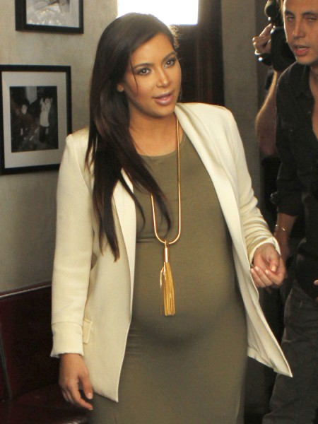 Kim Kardashian Delivers One Month Early - Stress-Related Or Did She lie About Due Date? 0615