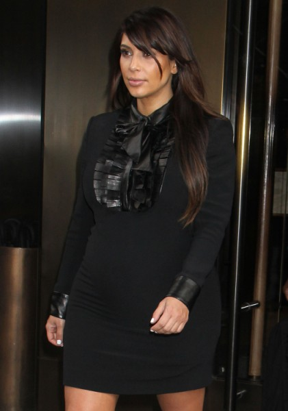 Kim Kardashian Spotted Out Looking Noticeably Thinner With North West, Surprised? 0716
