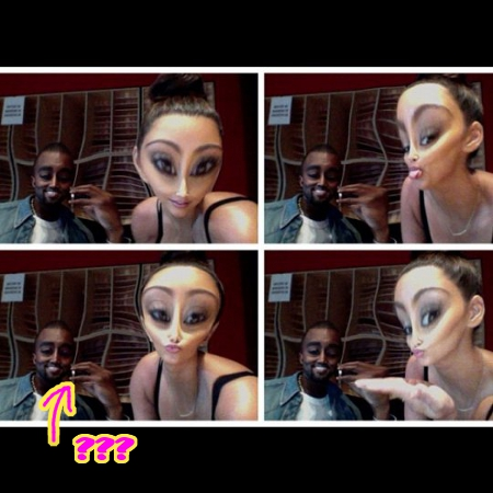 Kim Kardashian and Kanye West Pretend to be Aliens when they Smoke Marijuana!