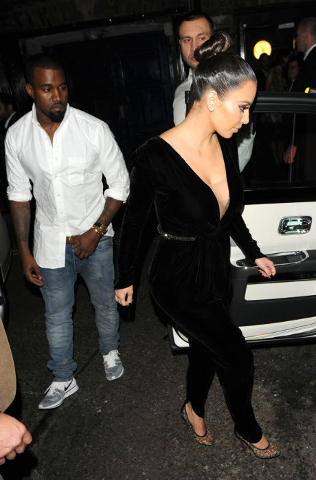 Kanye West Wants Kim Kardashian Out of Reality TV To Focus On World Peace and Acting!