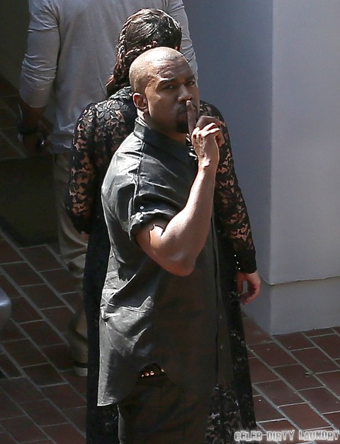 Kanye West Disgusted by Kim Kardashian's Continued Use of Botox while Pregnant!