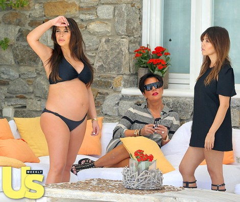 Kim Kardashian's Baby Shower Date Revealed - Kanye West Confirmed to Attend!