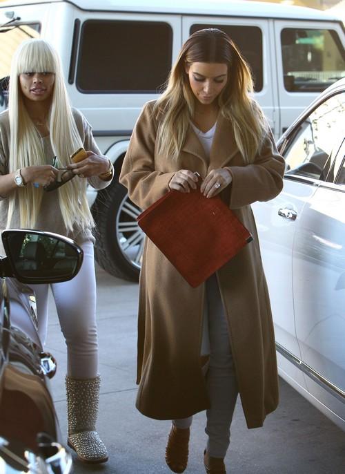Kim Kardashian Schelps Blac Chyna Shopping - Kris Jenner Desperate to Save Failing Reality TV Show (PHOTOS)
