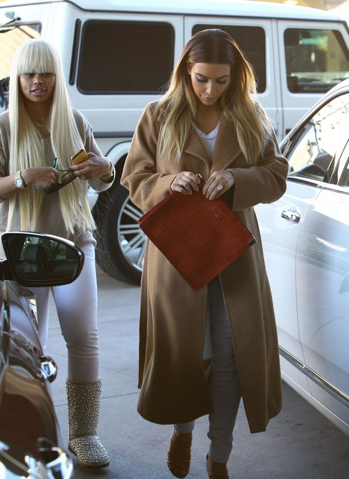 Kim Kardashian Schelps Blac Chyna Shopping - Kris Jenner Desperate to Save Failing Reality TV Show (PHOTOS)