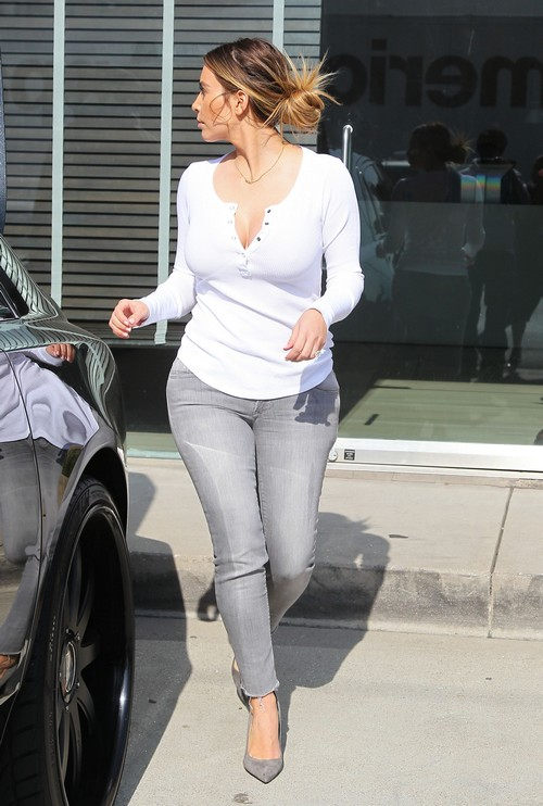 Kim Kardashian Has Booty Tailor On Call To Alter Her Butt In Jeans For Photos