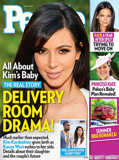 Kim Kardashian's Baby Girl Delivery Room Drama (PHOTO)