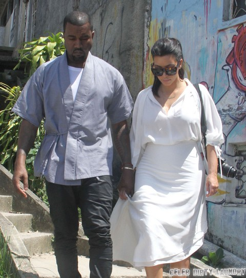 Kim Kardashian and North West First Photos at Doctor Appointment - Kim Wears More Layers Than a Bag Lady