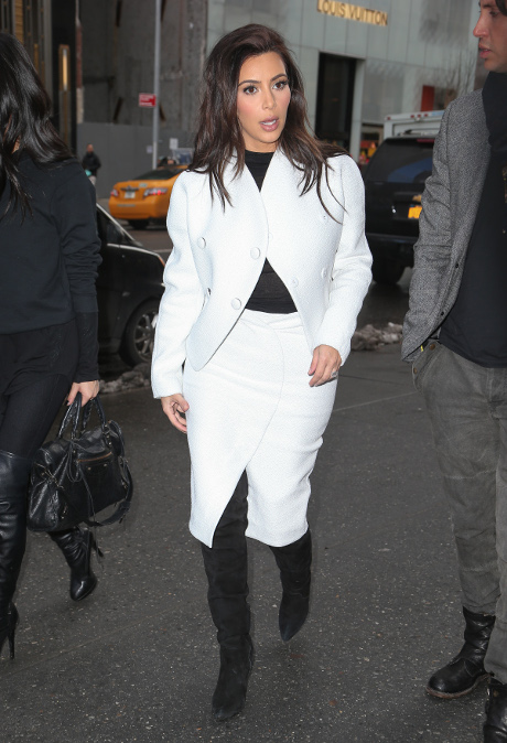 Kim Kardashian Calls TMZ Racist - Claims They're Not Supportive of Her and Kanye West's Interracial Relationship! (VIDEO)