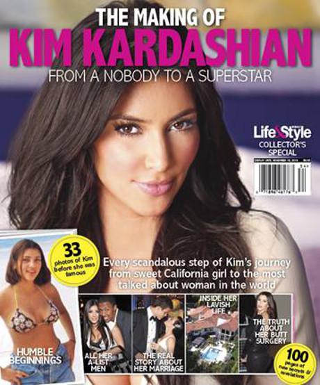Kim Kardashian's First Ever Bookazine to Explore her Explosive, Scandalous Rise to Fame!