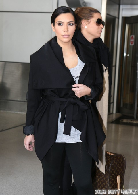 Kim Kardashian Miscarriage Risk Due To Kris Humphries Divorce - Medical Emergency For Baby?