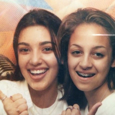 Kim Kardashian and Nicole Richie were 13-year-old BFFs -- See their Throwback Pic Here! (PHOTO)