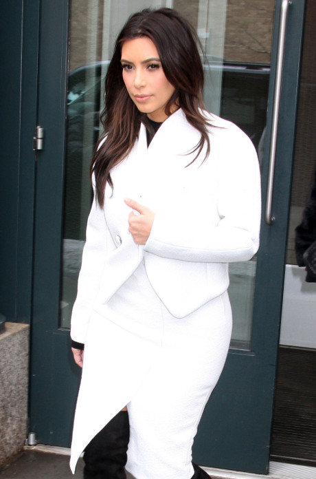 Kim Kardashian Spotted Out and About Wearing Her Bathrobe in NYC (PHOTOS)