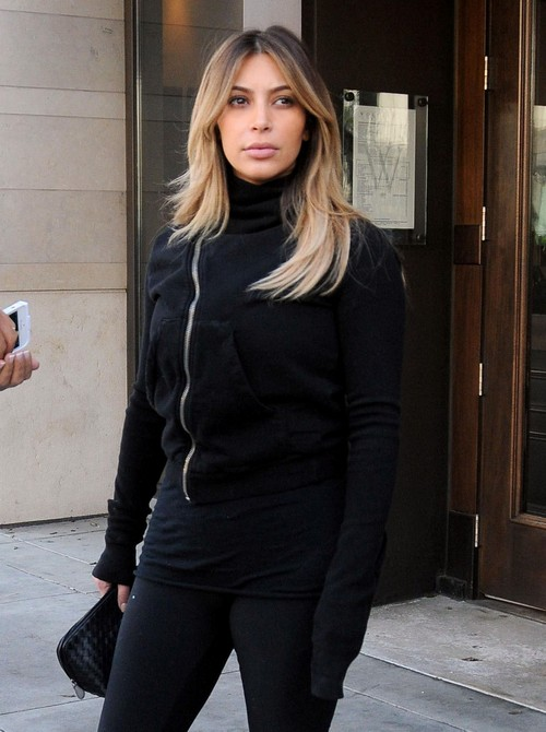 Kim Kardashian Gets More Plastic Surgery to Please Kanye West - Won't Stop Until She Looks Like Beyonce! (PHOTOS)