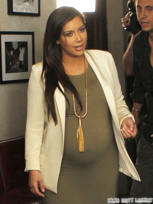 Video of Kim Kardashian and North West Playing With Horses - See Her Chubby Hand!