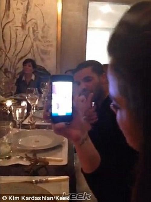 """Kim Kardashian's """"Regular Family Dinner"""" Keek Video Release: Kim Is Still Hiding Like A Freak of Nature - Regular or Insane?"""