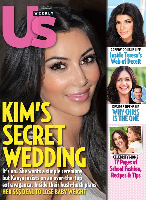 Kim Kardashian and Kanye West Battle Over Secret Wedding!