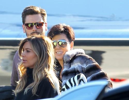 Kim Kardashian and Family Take Vacation Without Kanye West - Yet Scott Disick Was Invited! (PHOTOS)
