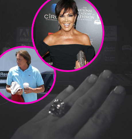 Kim Kardashian & Kanye West's Impending Wedding Already Riddled with Drama: Who Will Walk Kim Down the Aisle? Not Bruce!