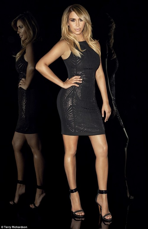 Kim Kardashian's New Photo Shoot for Kardashian Kollection is Photoshopped From Head to Toe (PHOTOS)