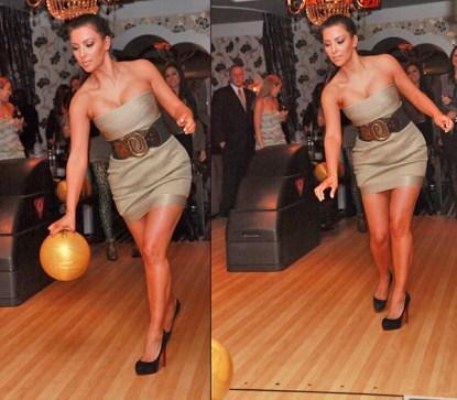 Reason # 10,996 To Hate Kim Kardashian: She Bowls In Louboutins