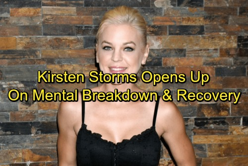 General Hospital Spoilers: Kirsten Storms Opens Up About Mental Breakdown Struggle, Time Off From GH and Recovery