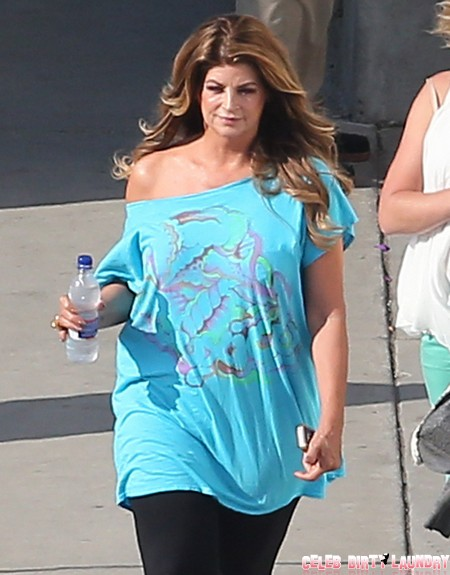 Kirstie Alley's Nasty Cocaine Habit Cured By Scientology