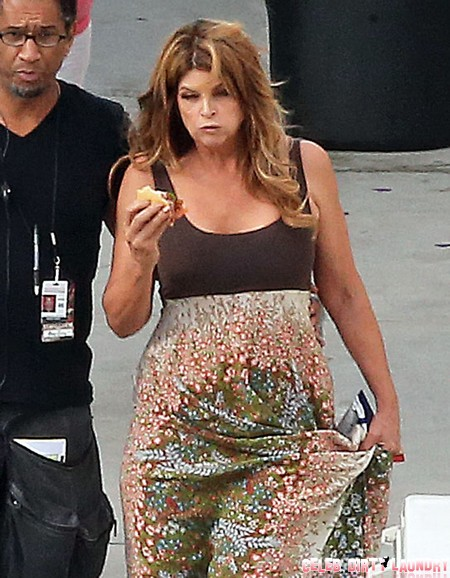 Kirstie Alley's Weight Balloons as Diet Fails After Embarrassing DWTS Season