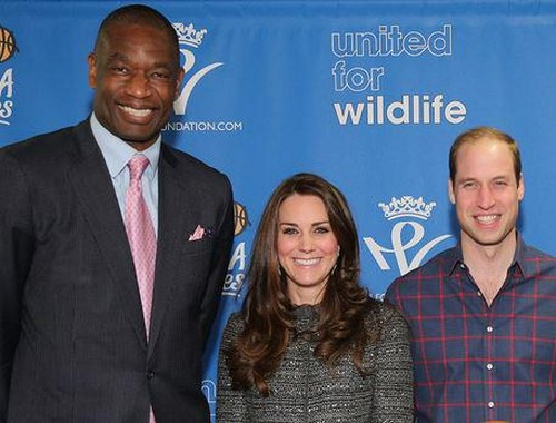 Kate Middleton, Prince William in New York City Meet Beyonce, Jay-Z and Lebron James at Barclays Center (Photos - Videos)