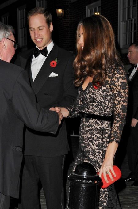Prince William & Kate Middleton Attend Fundraiser In London