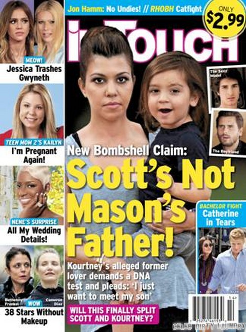 Kourtney Kardashian Says Scott Disick NOT Mason's Biological Father, Model Michael Girgenti Is!! (PHOTO)