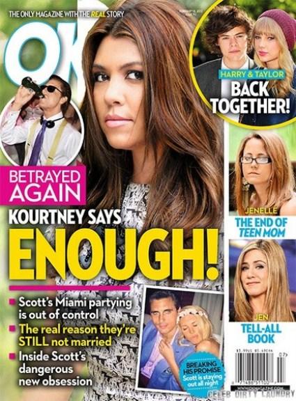 Kourtney Kardashian Betrayed By Boyfriend Scott Disick