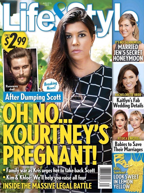 Kourtney Kardashian Pregnant With Baby Number Four: Conceived Child Pre-Breakup Sex With Scott Disick! (PHOTO)
