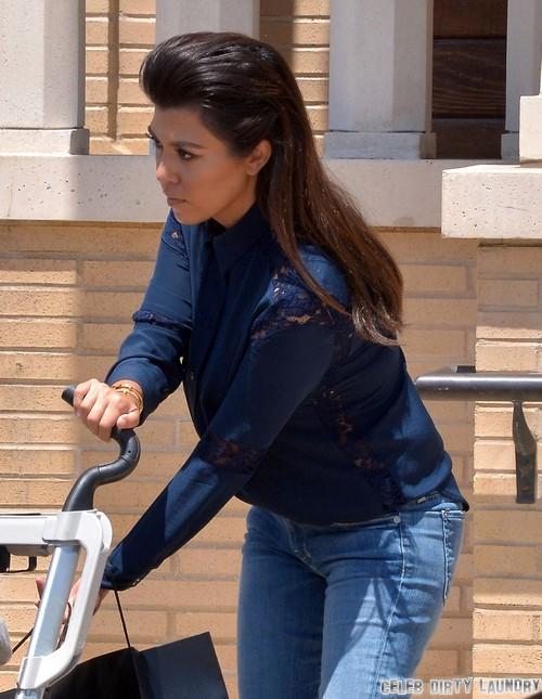 UPDATE: Kourtney Kardashian PREGNANT Again - See The Baby Bump!!! (PHOTO)